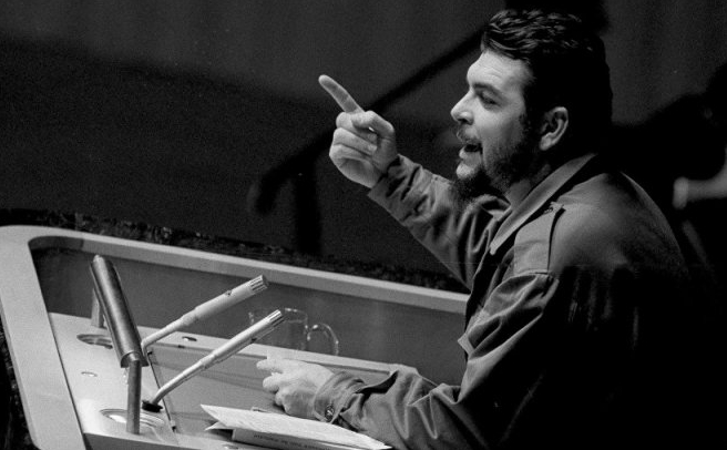 Photo speech Che Guevara | Hobby Keeper Articles