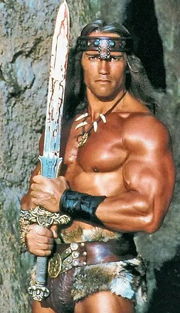 "Arnold Schwarzenegger in ""Conan the barbarian"" | Hobby Keeper Articles"