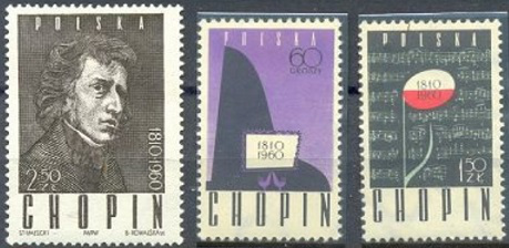 Stamps of Poland with Chopin | Hobby Keeper Articles