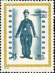 Postage stamp with Chaplin, India, 1978 | Hobby Keeper Articles