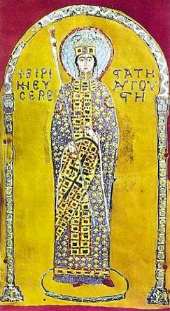 Empress Irene (miniature of the altar of St. Mark's Cathedral, Venice) | Hobby Keeper Articles