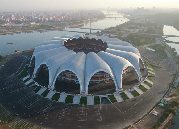 The Pyongyang stadium | Hobby Keeper Articles