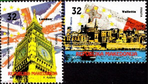 Postage stamps of London, Macedonia   Hobby Keeper Articles