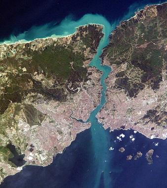 Bosphorus. Satellite image| Hobby Keeper Articles