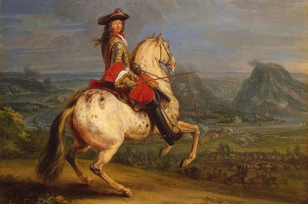 Louis XIV during the siege of Besancon in 1674   Hobby Keeper Articles