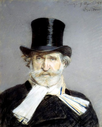 "Boldini painting ""Portrait of D. Verdi"", 1886 