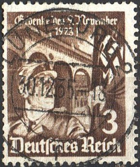 Postage stamp 1935-Reich - 12 years of the Beer Hall Putsch | Hobby Keeper Articles