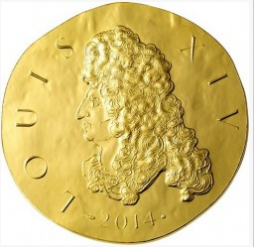 200 Euro coin with Louis XIV on the reverse, 2014, France  Hobby Keeper Articles