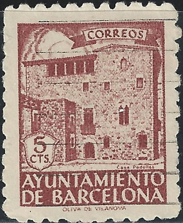 Barcelona City hall postage stamp | Hobby Keeper Articles