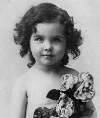 Photo of Vivien Leigh as a child | Hobby Keeper Articles