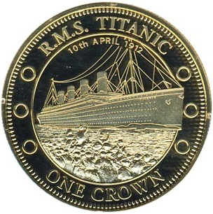 Titanic coin, Tristan da Cunha | Hobby Keeper Articles