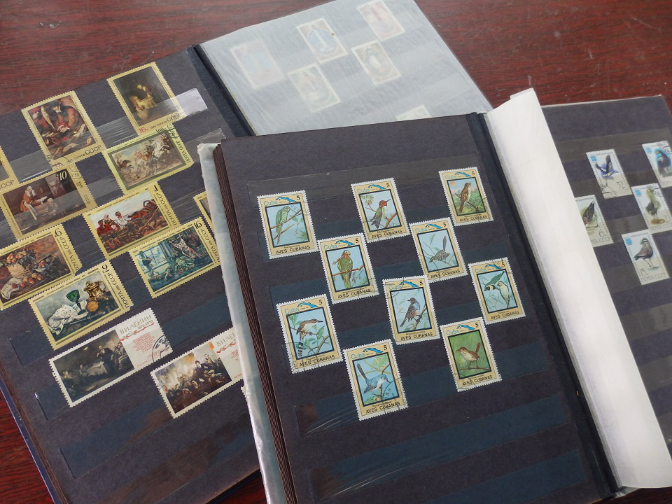 Photo albums with stamps | Hobby Keeper Articles
