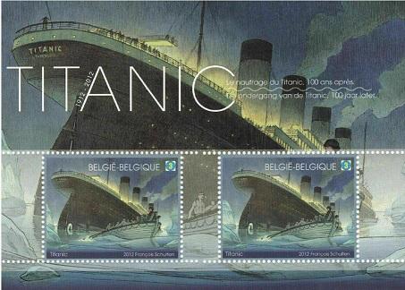 "Belgium brand 3D ""Titanic"", 2012 | Hobby Keeper Articles"