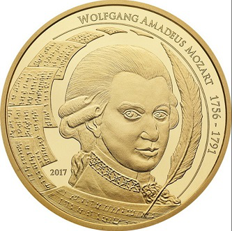 Coin with Mozart, 2017 | Hobby Keeper Articles