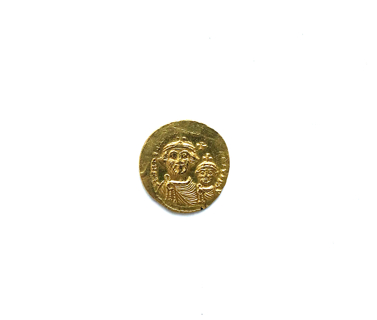 Gold solidus, Byzantine Empire | Hobby Keeper Articles