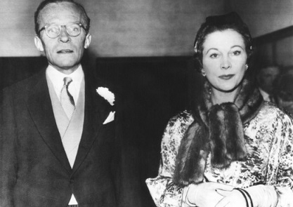 Photo Herbert Lee Holman and Vivien Leigh at their daughter's wedding | Hobby Keeper Articles