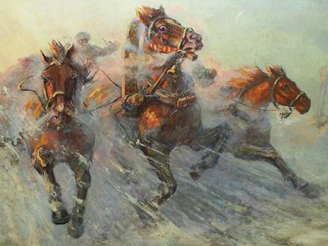 Troika of horses   Hobby Keeper Articles