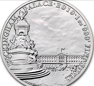 """2 pound sterling coin on the reverse of """"Buckingham Palace"""", 2019, United Kingdom   Hobby Keeper Articles"""