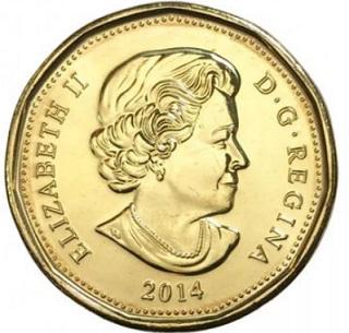1 dollar coin, 2014, Canada | Hobby Keeper Articles