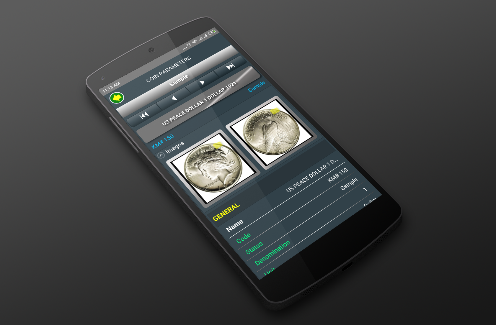 Numismatic app for Android | Hobby Keeper News