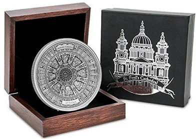 Coin dedicated to St. Paul's Cathedral, 2017, Samoa   Hobby Keeper Articles