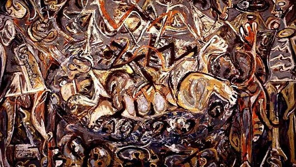 The Painting Of Jackson Pollock Pasiphae, 1943 | Hobby Keeper Articles