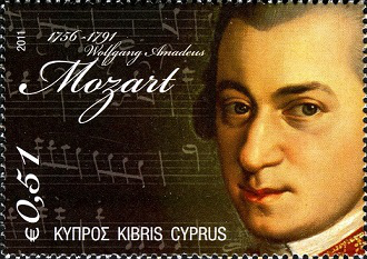 Brand Cyprus 0,51 € Mozart | Hobby Keeper Articles