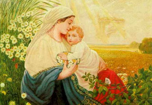 """Hitler's painting """"The Virgin Mary""""   Hobby Keeper Articles"""