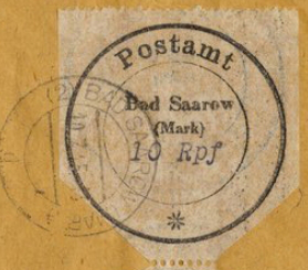 Postage stamp in Bad Zarov | Hobby Keeper Articles