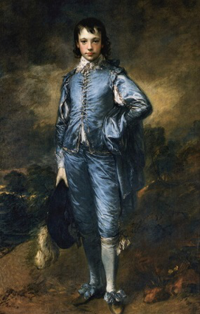 """The boy in blue."" Painting – Thomas Gainsborough, 1770 