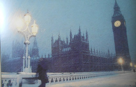 London under the snow postcard   Hobby Keeper Articles