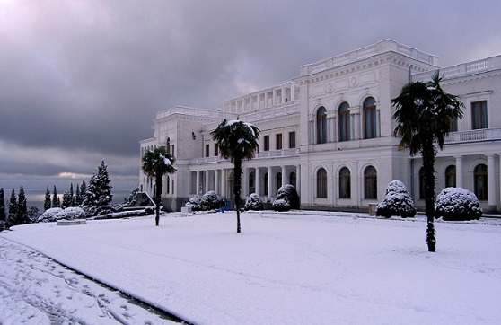 Livadia Palace in winter | Hobby Keeper Articles