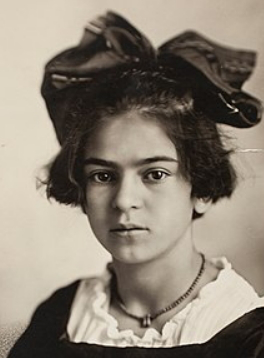 Frida Kahlo at the age of 12 | Hobby Keeper Articles
