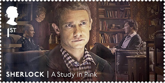 Stamp from the Sherlock Holmes series, 1St, United Kingdom | Hobby Keeper Articles