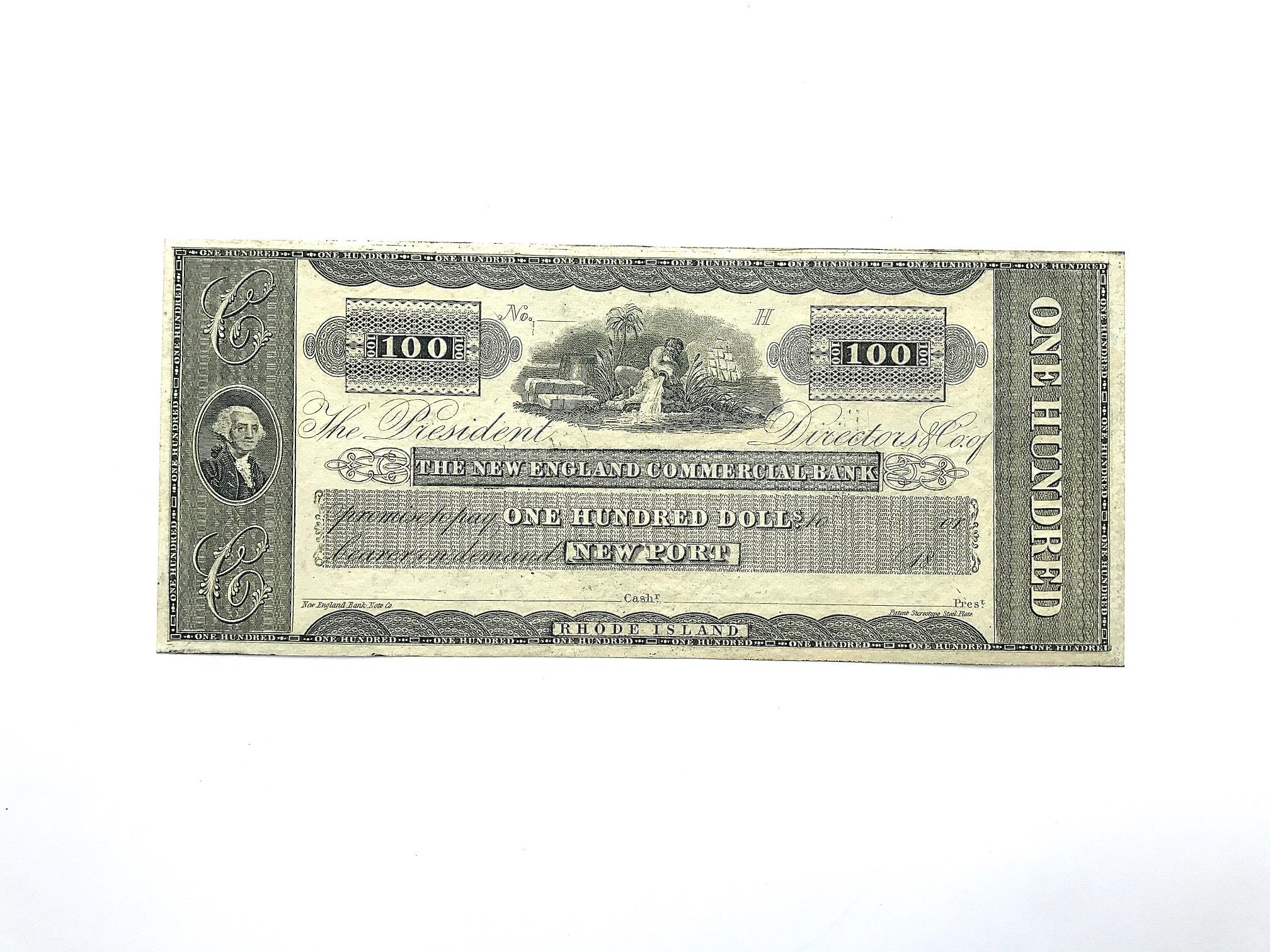 $ 100 bill, 1863, USA | Hobby Keeper Articles