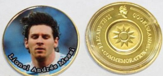 L. Messi Coin, Cook Islands | Hobby Keeper Articles