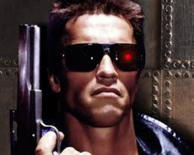 """Still from the movie """"Terminator"""" 