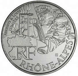 10 Euro coin with the image of the Lumiere brothers, 2012, France | Hobby Keeper Articles