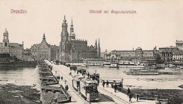 Postcard with the image of Dresden | Hobby Kepper Articles