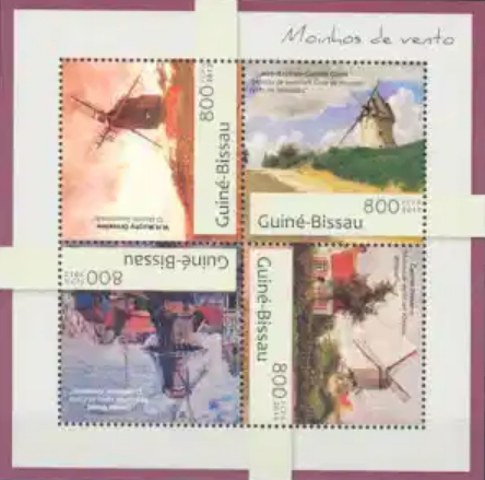 Stamps Guinea, with Monet ' paintings | Hobby Keeper Articles