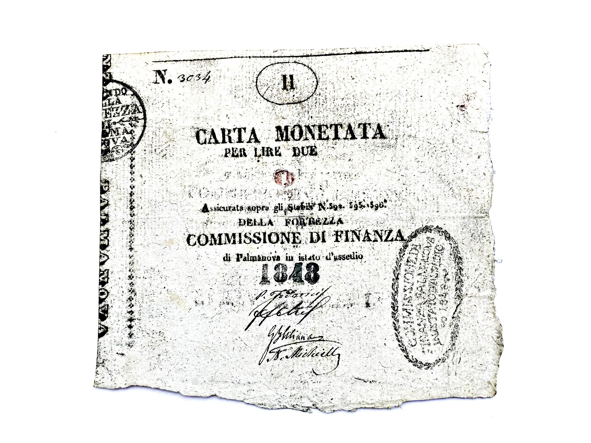 Banknotes Carta Mоnetata