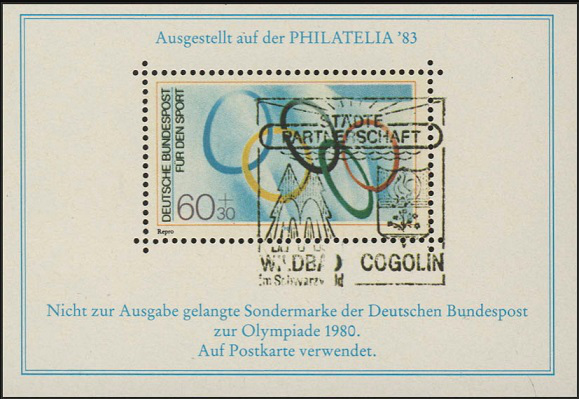 APHV special print brand Philatelia Gscheidle, 1983 | Hobby Keeper Articles
