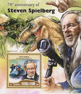 """The unit marks """"S. Spielberg"""", Sierra Leone, 2016 