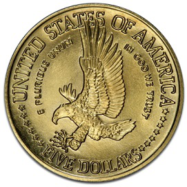 Gold coin 5 dollars, 1986, United States | Hobby Keeper Articles