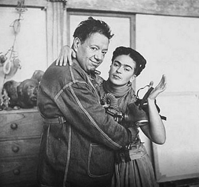 Frida Kahlo and her husband Diego Rivera | Hobby Keeper Articles