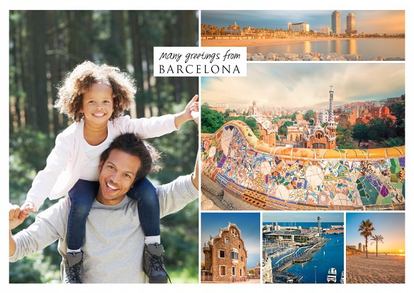Postcard with views of Barcelona | Hobby Keeper Articles