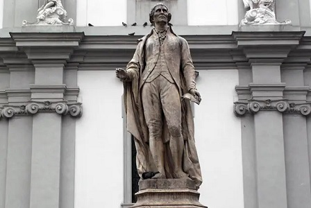 Photo of the monument to Th. Haydn | Hobby Keeper Articles