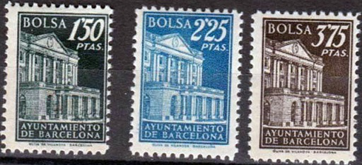 Barcelona city Hall postage stamps | Hobby Keeper Articles