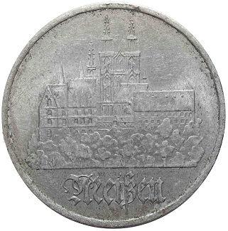 Coin with the image of Dresden | Hobby Kepper Articles