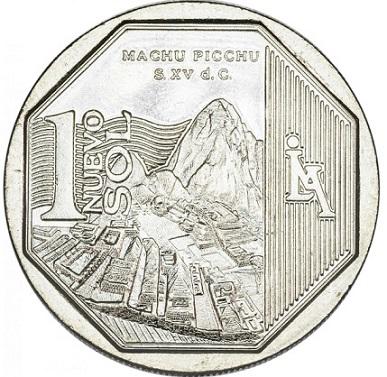 1 salt coin featuring Machu Picchu, Peru, 2011   Hobby Keeper Articles